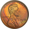 Proof Lincoln Cents, 1910 1C PR66 Red NGC....