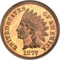 Proof Indian Cents, 1877 1C PR65 Red NGC....