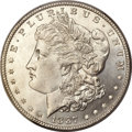 Morgan Dollars, 1887/6 $1 MS65 Prooflike PCGS. CAC. VAM-2....