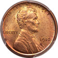 Proof Lincoln Cents, 1912 1C PR65 Red and Brown PCGS. CAC....