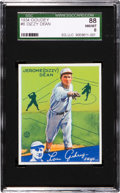 Baseball Cards:Singles (1930-1939), 1934 Goudey Dizzy Dean #6 SGC 88 NM/MT 8 - Only One Higher....