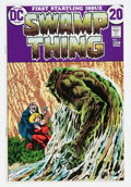 Bronze Age (1970-1979):Horror, Swamp Thing #1 (DC, 1972) Condition: VF....
