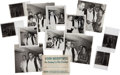 Music Memorabilia:Photos, Elvis Presley Four Vintage Photographs with Negatives and all Rights (1958). ... (Total: 4 Items)