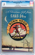 Golden Age (1938-1955):Adventure, Classics Giveaways Saks 34th St. (Gilberton, 1942) CGC PR 0.5 Brittle pages....