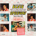 Music Memorabilia:Recordings, Elvis Presley Super-Rare Speedway Sealed Mono LP with BonusPhoto and Sticker (RCA 3989, 1968). ...