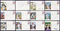 Baseball Collectibles:Others, Pittsburgh Pirates Signed Card and Envelopes Lot of 12....