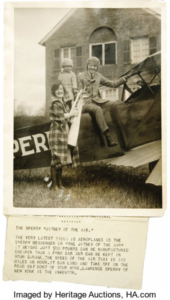 Large Scrapbook Of Early Aviators Photographs Housed In Lot