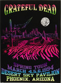 "Music Memorabilia:Posters, Grateful Dead ""Spring Tour"" Desert Sky Pavilion Concert Poster(1994). This large, 17.75"" x 23.75"" poster, printed in vivid...(Total: 1 Item)"