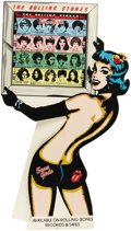 """Music Memorabilia:Posters, Rolling Stones """"Some Girls"""" Stand-Up Counter Display (AtlanticRecording Corporation, 1978). """"Some girls get the shirt off ...(Total: 1 Item)"""