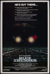 "Blue Thunder (Columbia, 1983). Poster (40"" X 60""). Action"