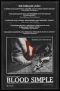 "Movie Posters:Thriller, Blood Simple (Circle Films, 1984). One Sheet (24"" X 36.5""). Crime...."