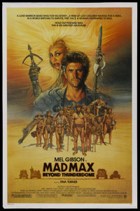 """Mad Max Beyond Thunderdome (Warner Brothers, 1985). One Sheet (27"""" X 41""""). Science Fiction"""