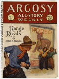 Pulps:Western, Argosy-All Story Weekly 1927 December (Munsey, 1927)....