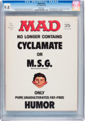 Magazines:Mad, Mad #133 (EC, 1970) CGC NM/MT 9.8 White pages....