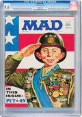 Magazines:Mad, Mad #140 (EC, 1971) CGC NM+ 9.6 White pages....