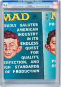 Magazines:Mad, Mad #151 (EC, 1972) CGC NM+ 9.6 White pages....