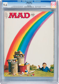 Mad #152 (EC, 1972) CGC NM+ 9.6 White pages