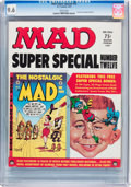 Magazines:Mad, Mad Special #12 (EC, 1974) CGC NM+ 9.6 White pages....
