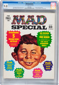 Magazines:Mad, Mad Special #1 (EC, 1970) CGC NM/MT 9.8 White pages....