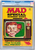 Magazines:Mad, Mad Special #8 (EC, 1972) CGC NM/MT 9.8 White pages....