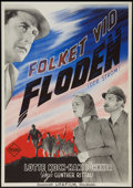"Movie Posters:Drama, Der Strom (Terra-Filmkunst, 1942). Swedish One Sheet (27.5"" X39.25""). Drama.. ..."