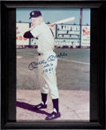 "Autographs:Photos, Circa 1990 Mickey Mantle ""No. 6 1951"" Signed Large Photograph...."