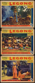 "Movie Posters:Drama, Legong (DuWorld, 1935). Lobby Cards (3) (11"" X 14""). Drama.. ... (Total: 3 Items)"