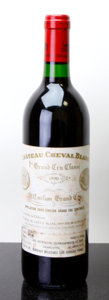 Red Bordeaux, Chateau Cheval Blanc 1990 . St. Emilion. wisl. Bottle (1).... (Total: 1 Btl. )