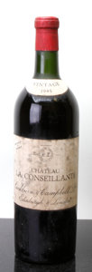 Red Bordeaux, Chateau La Conseillante 1945 . Pomerol. hs, hbsl, tc,bottled by Cockburn & Campbell. Bottle (1). ... (Total: 1 Btl.)