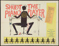"Movie Posters:Crime, Shoot the Piano Player (Astor, 1962). Half Sheet (22"" X 28"").Crime.. ..."