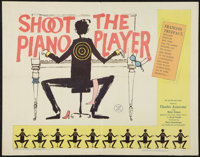 "Shoot the Piano Player (Astor, 1962). Half Sheet (22"" X 28""). Crime"