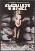 "Movie Posters:Crime, Wild at Heart (Samuel Goldwyn, 1990). Czech Poster (11.5"" X 16.5""). Crime.. ..."