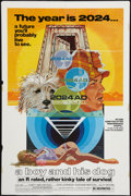 """Movie Posters:Science Fiction, A Boy and His Dog (Aquarius Releasing, 1975). One Sheet (27"""" X 41""""). Science Fiction.. ..."""