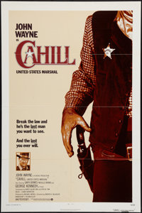 """Cahill: United States Marshal (Warner Brothers, 1973). One Sheet (27"""" X 41""""). Western"""