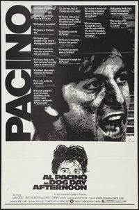 "Dog Day Afternoon (Warner Brothers, 1975). One Sheet (27"" X 41"") Review Style. Action"