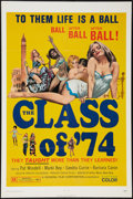 """Movie Posters:Sexploitation, The Class of '74 (General Film, 1972). One Sheet (27"""" X 41"""").Sexploitation.. ..."""