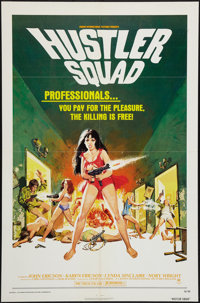 "Hustler Squad (Crown International, 1976). One Sheet (27"" X 41""). Exploitation"