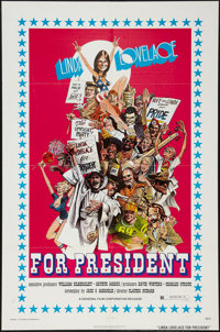 "Linda Lovelace for President (General Film, 1976). One Sheet (27"" X 41""). Adult"