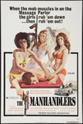 "Movie Posters:Bad Girl, The Manhandlers (Premiere Releasing, 1973). One Sheet (27"" X 41""). Bad Girl.. ..."