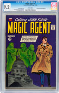 Silver Age (1956-1969):Mystery, Magic Agent #1 (ACG, 1962) CGC NM- 9.2 White pages....