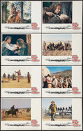 """Movie Posters:Western, The Cowboys (Warner Brothers, 1972). Lobby Card Set of 8 (11"""" X 14""""). Western.. ... (Total: 8 Items)"""