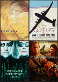 """Movie Posters:Science Fiction, The Matrix Reloaded & Others Lot (Warner Brothers, 2003). Japanese Speeds (4) (7"""" X 10""""). Science Fiction.. ... (Total: 4 Items)"""