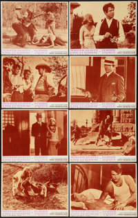 "Bonnie and Clyde (Warner Brothers-Seven Arts, 1967). Lobby Card Set of 8 (11"" X 14""). Crime. ... (Total: 8 Ite..."