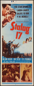 "Movie Posters:War, Stalag 17 (Paramount, 1953). Insert (14"" X 36""). War.. ..."