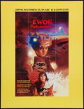 "Movie Posters:Science Fiction, Caravan of Courage: An Ewok Adventure (ABC, 1984). Television Poster (25.5"" X 33"") Advance. Science Fiction.. ..."