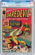 Silver Age (1956-1969):Superhero, Daredevil #2 (Marvel, 1964) CGC NM+ 9.6 Off-white to white pages....