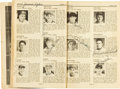 """Baseball Collectibles:Publications, 1938 Baseball Greats Multi Signed """"Who's Who"""" Book...."""