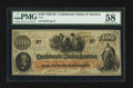 Confederate Notes:1862 Issues, T41 $100 1862 PF-12 Cr. 317A... ...