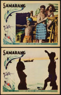 "Movie Posters:Documentary, Samarang (United Artists, 1933). Lobby Cards (2) (11"" X 14""). Documentary.. ... (Total: 2 Items)"