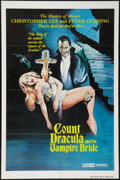 """Movie Posters:Horror, Count Dracula and His Vampire Bride (Dynamite Entertainment, 1978). One Sheet (27"""" X 41""""). Horror.. ..."""